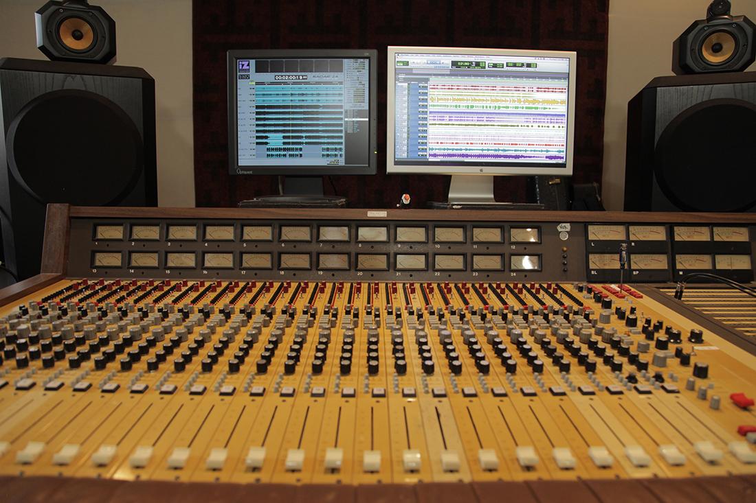 1974 MCI 428 Recording Console, Analog